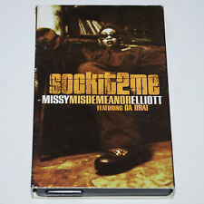 Missy Elliott Sock it 2 Me b/w The Rain Supa Dupa Fly Cassingle '97 Rap Tapes