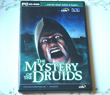PC MYSTERY OF THE DRUIDS SERIOUS ADVENTURE GAME EPIC STORYLINE 2001 15+ ID3 CDV