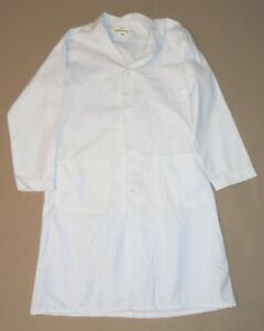 Consolidated Laundries vintage BEECH-NUT LAB COAT cloth buttons Best Mfg sz40 mp