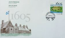 Canada First Day Cover, Celebrating Port-Royal Settlement 1605