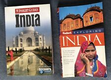 India Fodor's Explore and Insight Guides Discovery Channel Travel 2 Book Lot