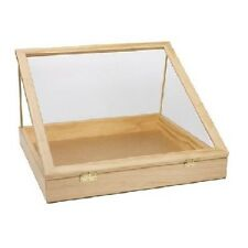 """Jewelry Display Case Countertop Clear View Top Retail Merchandise 24"""" x 36"""" x 4"""""""