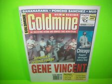 Gene Vincent Cover Goldmine Magazine 2000 Issue Rock And Roll Chicago Bananarama