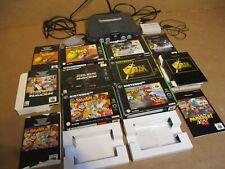 Nintendo 64 Spielekonsole + 6 Spiele Leerkartons + Gameboy Adapter