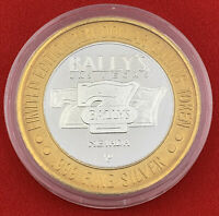 Casino Strike Token $10 .999 Fine Silver Bally's Las Vegas Nevada 777