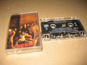 SKID ROW USA CASSETTE SLAVE TO THE GRIND 1991