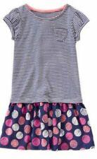 NWT Gymboree Everyday Favorites Tee Shirt Dress Size 5 Striped Dot