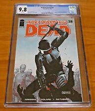 The Walking Dead #28 Image Comics 2006 CGC Graded 9.8 Pin-up Back Cover Rathburn