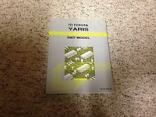 2007 Toyota Yaris Electrical Wiring Diagram Manual S 1.5L 4Cyl