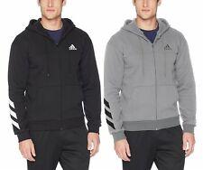 adidas Men's Sport Full Zip Fleece Hoodie Sweatshirt