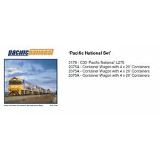 FRATESCHI HO SCALE PACIFIC NATIONAL SET SMPNSET