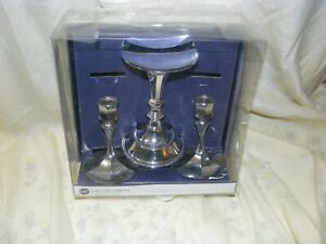 Wilton Unity Candle Holder Set, Silver-Plated - Ne In Opened Box