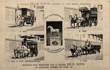 CPA PARIS La Maison FÉLIX POTIN Prix, Attelages (218970)