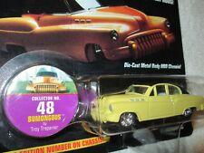 JOHNNY LIGHTNING BUICK CUSTOM BUMONGOUS  street #48 hot rods yellow  1/64 JL