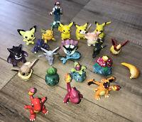 RARE Pokémon Figures TOMY Nintendo Vintage 90s Authentic CGTSJ Lot of 21 BANDAI