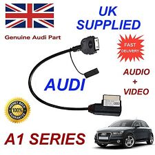 For AUDI A1 2011 AMI MMI 4F0051510R iPhone iPod Audio Video Cable