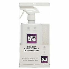 Autoglym Cabriolet Fabric Hood Kit Soft Top Cleaner Protector Mx5 MGF