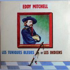 """EDDY MITCHELL - CD SINGLE PROMO """"LES TUNIQUES BLEUES ET LES INDIENS"""""""