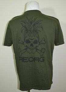 Tatami Fightwear T-Shirt Re-Org Green Corefit BJJ Jiu-jitsu Mens Size XL