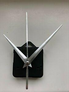 Clock Movement - Quartz Silver Sweeping Hands - AA Battery Powered  Mechanism UK