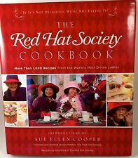 The Red Hat Society Cookbook by Red Hat Society Staff (2006, Hardcover)