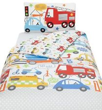 George Home Toddler Bed Duvet Cover Set 120 X 150cm Easy Care
