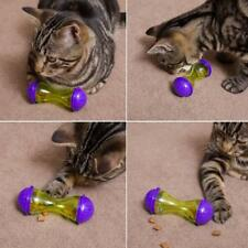 Cat Dog Feeder Plastic Funny Pet Food Dispenser Ball Puppy Leakage Food Toy