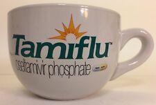 Tamiflu extra large coffee mug soup bowl La Roche Pharmaceuticals Drug Promo