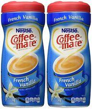 Nestle Coffee Mate French Vanilla Powdered Creamer (15 oz) 2 Pack