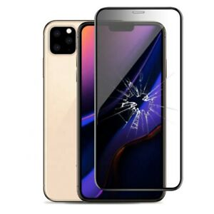 FULL SCREEN 10D 9H EDGE TEMPERED GLASS PROTECTOR For iPhone 11/11 Pro/11 Pro Max