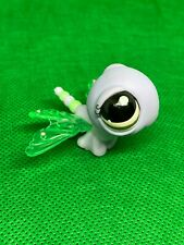 littlest pet shop LPS #1125 Dragon Fly Clewr Blue Wings With Brown Eyes