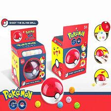 Fun Pokemon Go Pocket Monster Figures Pokeball Shoot Ball Kids Baby Boy Girl Toy