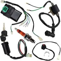 Wire Harness Wi Loom Cdi Ignition Coil Kill Switch Plug Rebuild Kit for 125 T7F5