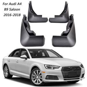 Set Splash Guards Mud Guards Flaps 8W5075101/111 For Audi A4 B9 Saloon 2016-2018