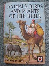Vintage Ladybird 'Animals, Birds & Plants of the Bible' series 649 15p NET matt