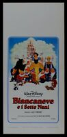 L112 Plakat Schneewittchen E I Sieben Zwerge Walt Disney Animation