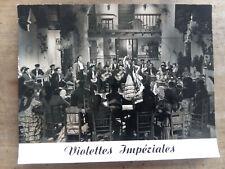 Photo Exploitation VIOLETTES IMPERIALES Luis MARIANO Carmen SEVILLA