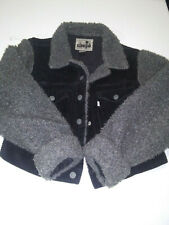 Levis Silver Tab Med. Winter Womans Ladies Corduroy Coat Jacket Free Shipping!