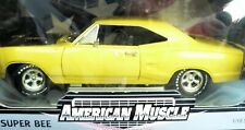 1/18, 1969 Dodge Super Bee , yellow with american mags