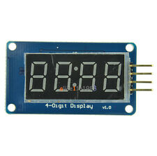 4 Bits TM1637 Digital Tube LED Clock Display Module For Arduino Due UNO 2560  R3