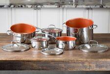 Nuwave 10 Piece Cookware Pot Set- free from PFOA, PTFE and Cadmium