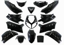 Kit carénage capot 15 parties de carénage noir pour Peugeot Speedfight