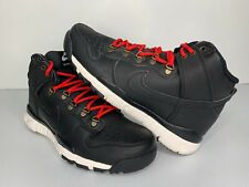 NEW Size 10 Nike SB Dunk High Boot Black 806335-012 Mens Shoes Red White high