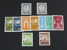 nystamps Thailand Stamp # 315/338 Mint Og H $33 U4y1154
