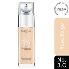 L'Oreal Paris True Match Super-Blendable Foundation 3.C Rose Beige SPF 17, 30ml