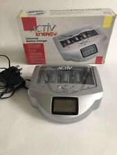 Activ Energy Universal Battery Charger 9V, AA Or AAA