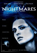 USED DVD - NIGHTMARES come at NIGHT - JESS FRANCO - DIANA LORYS , NUDITY