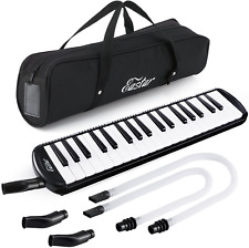 More details for eastar melodica 37 key piano style melodica instrument for kids and beginners