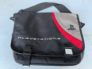 """SONY Playstation 3 PS3 System Laptop Travel Messenger Bag Carrying Case 16"""""""