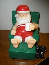 Gemmy Animated Santa Claus Talking Santa Claus In Chair ADORABLE